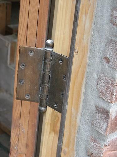 old door hinges
