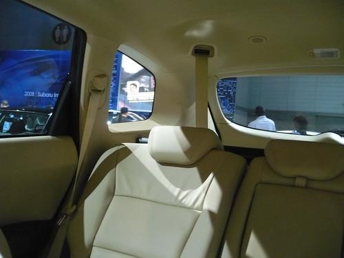 2008 Subaru Tribeca Interior. 2008 Subaru Tribeca Gets
