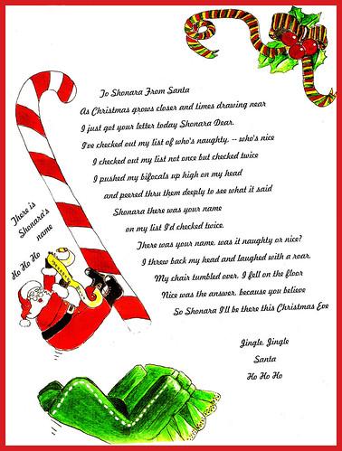 dear santa letter samples - photo #19