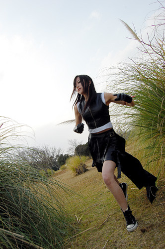 Final Fantasy Tifa Lockhart Cosplay Fotos