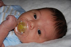 Jaylen @ 6 weeks 2 days old