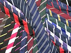 College ties (robep) Tags: uk cambridge england college ties university pattern shopwindow