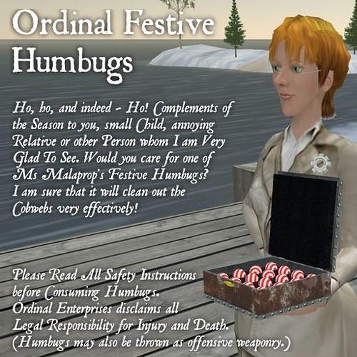 Humbug advert