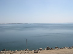 View from the Aswan Dam:  Looking South (upyernoz) Tags: dam egypt aswan  lakenasser  aswanhighdam aswandam