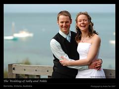 The Wedding of Sally and Nikki (synkronized_60) Tags: wedding nikon f14 85mm australia victoria nikkor sorrento d2xs