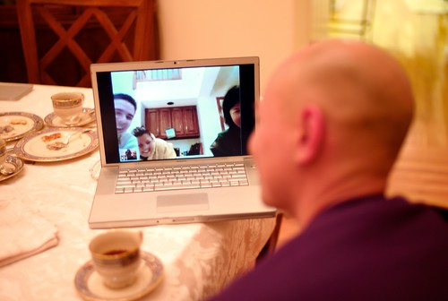 A Thanksgiving Skype