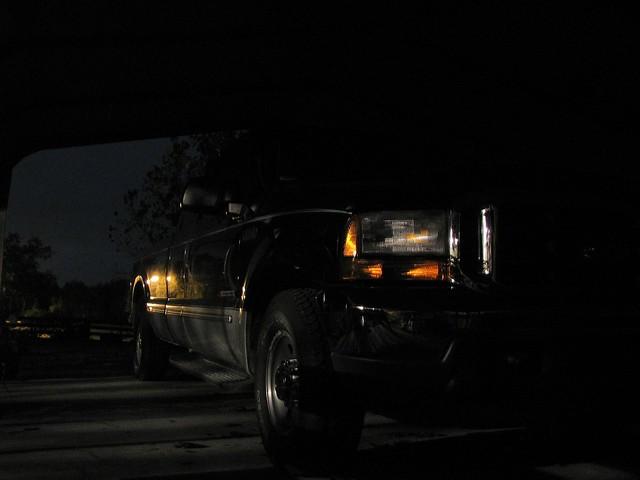 sky black ford night clouds truck dark landscape moody shadows diesel pickup 1999 f250 builtfordtough comhuntr