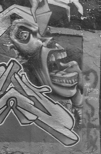 Grafitti b&w