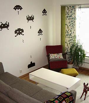 [Templo friki] Una habitación a la Space Invaders