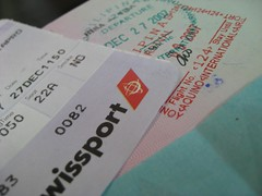 Ticket to SG + Passport