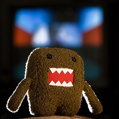 Domo! (G0Da) Tags: bulb tv flash domo tungsten domokun vivitar nhk 285 erda 67points strobist