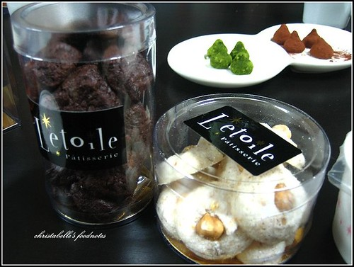 L'etoile季節師傅巧克力酥餅與榛金
