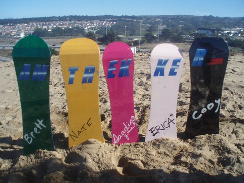 Amtrekker Sandboards!