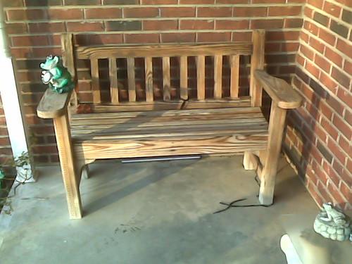 Garden Bench Front