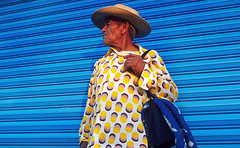 Michoacan style (mexadrian) Tags: blue yellow shirt mexico michoacan sabaneta