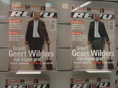 Geert Wilders nieuwe revu