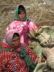 Tarahumara women selling pine-needle baskets, Copper Canyon, Mexico (ali eminov) Tags: folkcostumes indigenouspeople coppercanyon mexico raramuri baskets pineneedlebaskets women tribalwomen tarahumara barrancasdelcobre