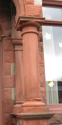 Brownstone Pillar
