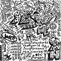 Sharpie Doodle 5