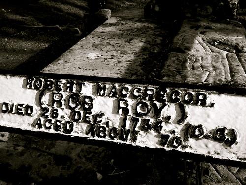 Rob Roy's Grave 2