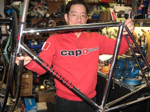 Tony Tom owns A Bicycle Odyssey bike shop in Sausalito