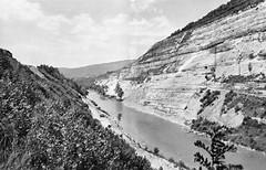 Emplacement du barrage de Vouglans
