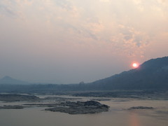 Sunrise on the Mekong Thailand 4