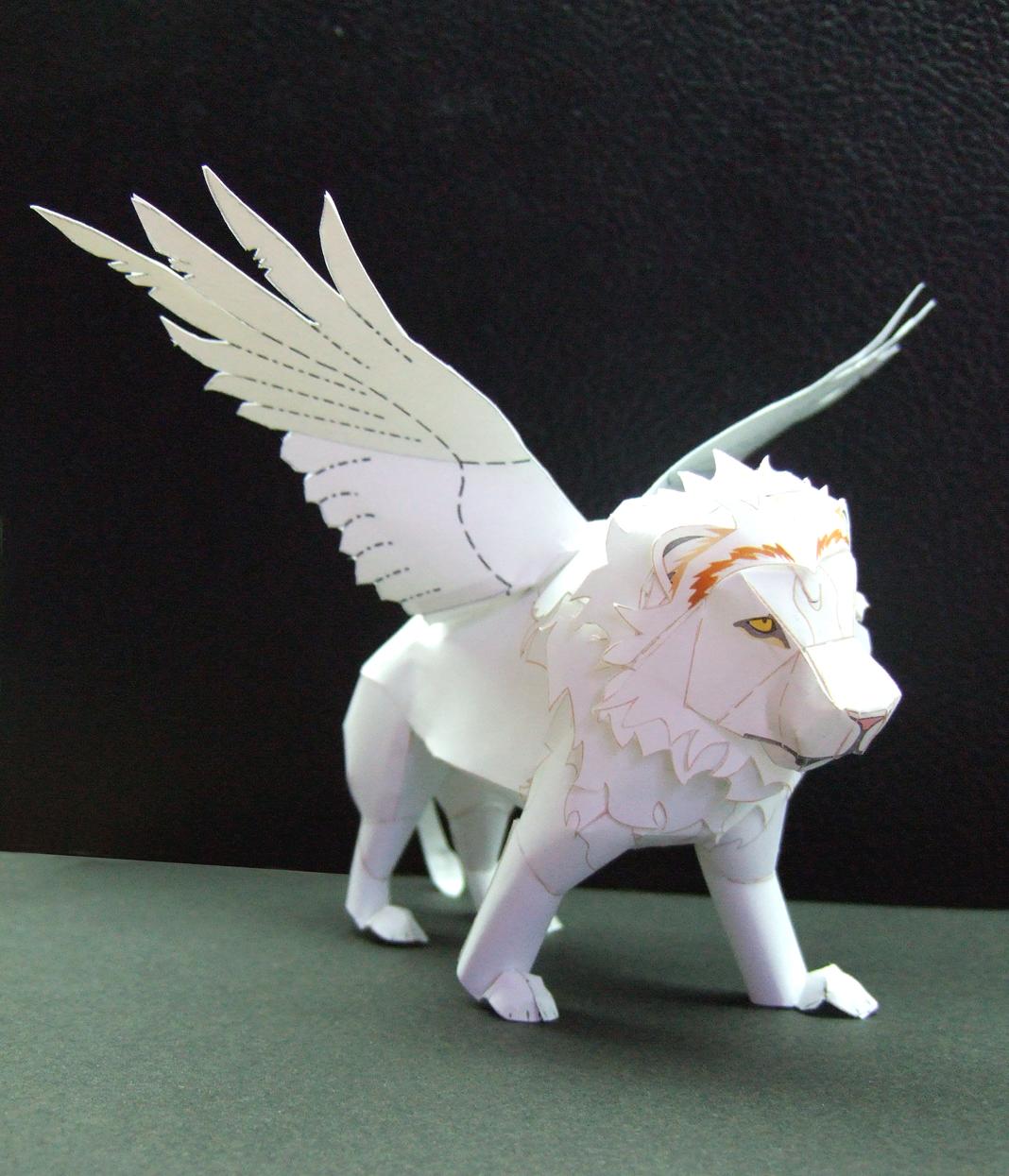 Origami Japanese Dragon