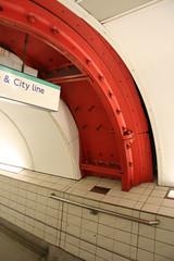 Greathead Shield in Bank Station - 3