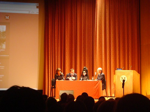 Panel Discussion at the Met nyc Blog Mode Cathy Horyn Diane Pernet Scott Schuman the sartorialist a shaded view on fashion on the runway ny times