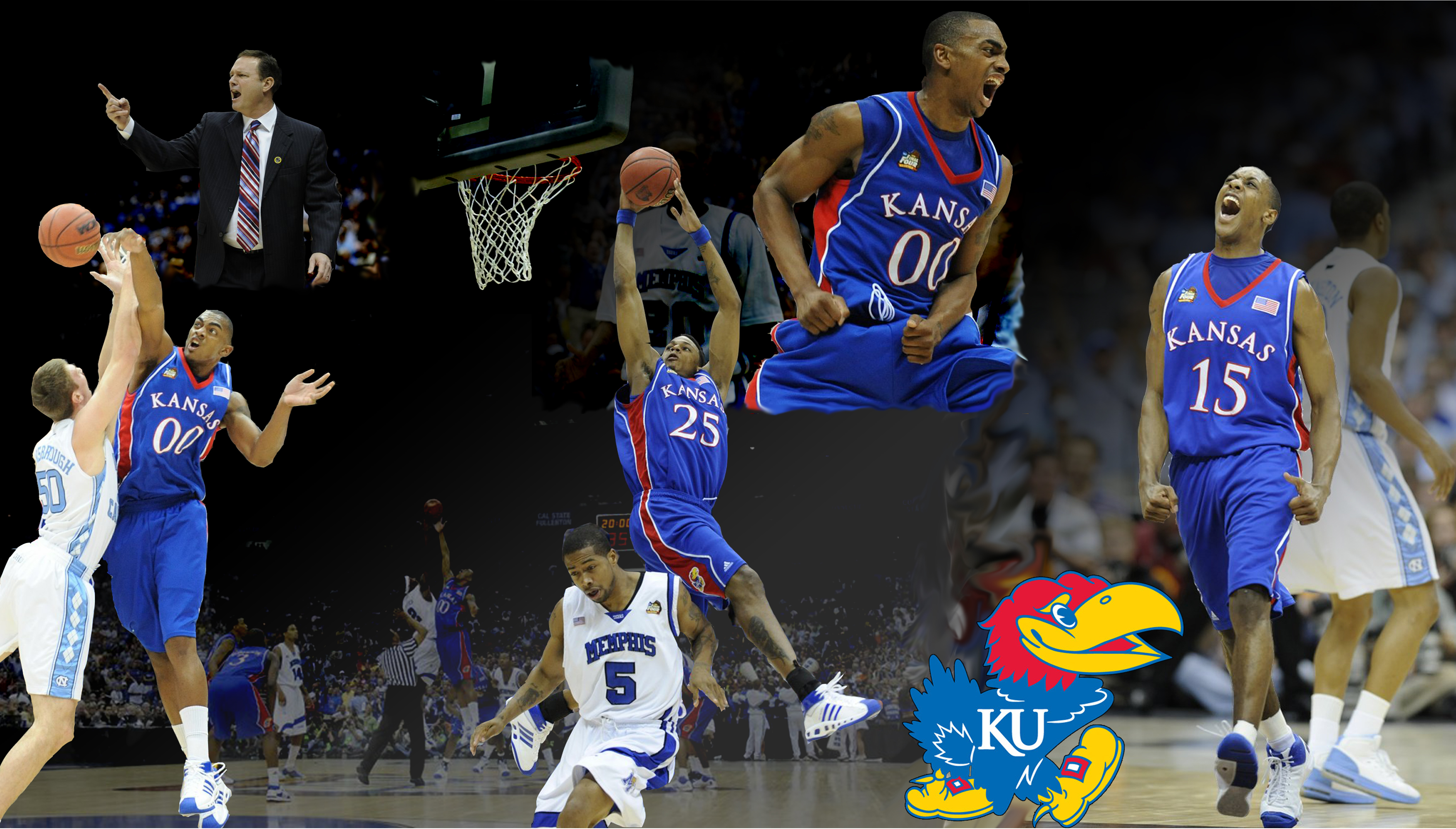 kansas jayhawks wallpaper