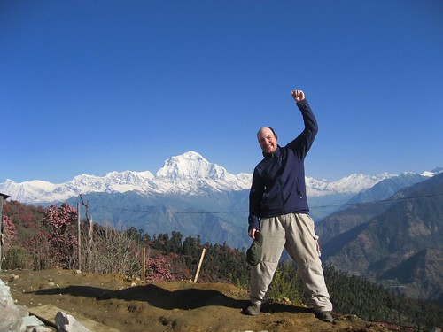 Self portrait with Dhauligiri