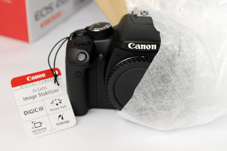 Removing the Canon XSi / 450D