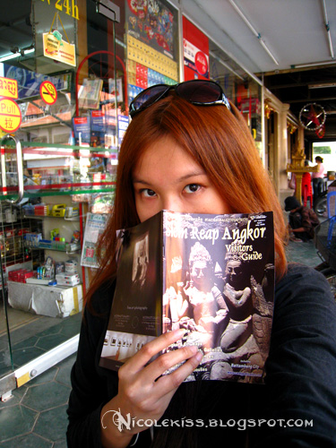 my new hair and angkor wat book