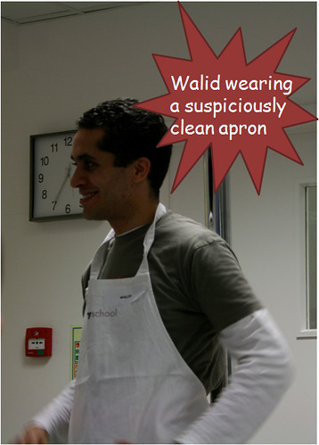 Walid and Clean Apron