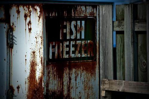 Clean those fish.