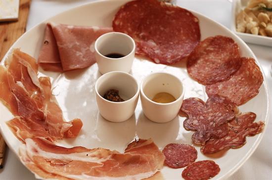 porkfolio - charcuterie plate