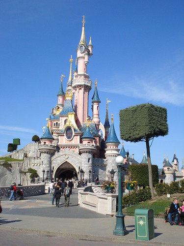 Disneyland Paris castello