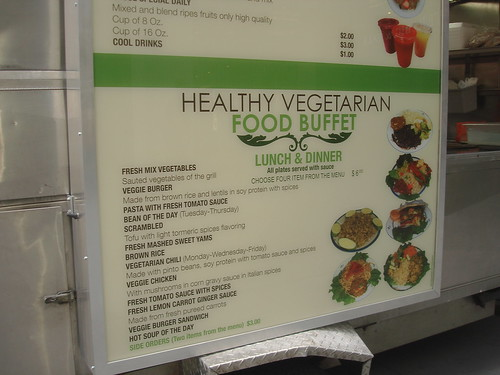 Healthy Vegetarian Food Cart