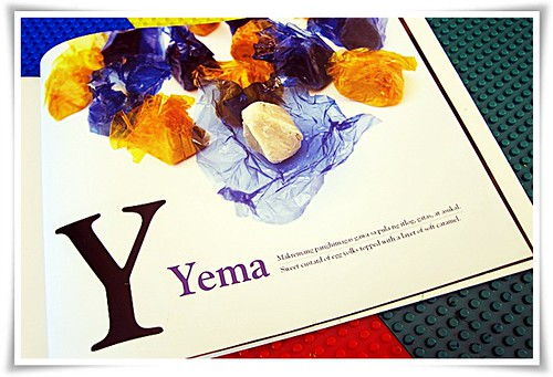 Y for Yummy Yema