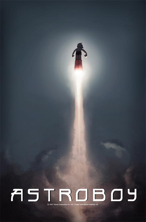 película Astro Boy poster 2009
