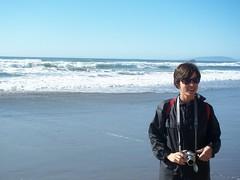 Molly at the beach (RicanGeek) Tags: beach fortfunston