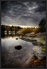 Autumn is here (Kaj Bjurman) Tags: autumn cold water clouds boats darkness sweden stockholm hdr kaj 2007 djurgrden cs3 photomatix outstandingshots 40d mywinners abigfave anawesomeshot diamondclassphotographer ysplix excellentphotographerawards bjurman