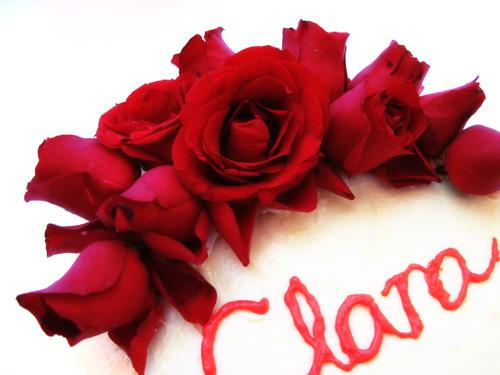 Red Velvet Cake (Roses)