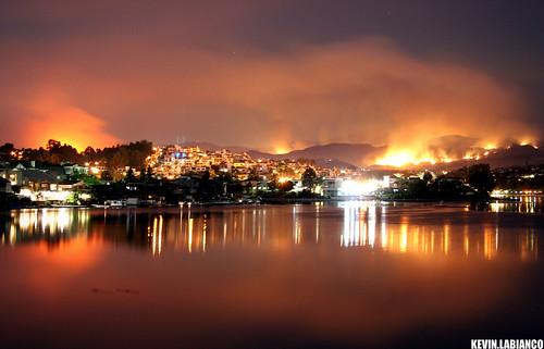 Santiago Wildfire