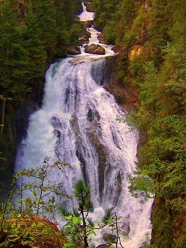 Le cascate Riva di Tures -Alto Adige- Italia