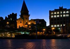 Church on Circular Quay,   Sydney (Light Knight) Tags: longexposure night sydney australia hdr pentaxk10d