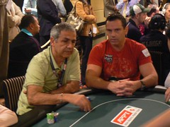 Bluff Magazine Player of the Year Chad Brown, dual WSOP bracelet winner Mel Judah at APPT Macau