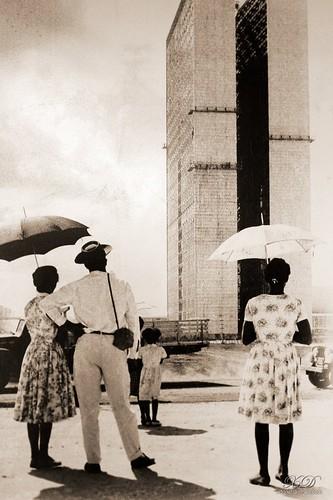 A inauguração de Brasília