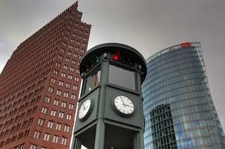 Berlin - Ampel Potsdamer Platz